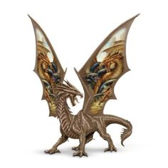 Fantasy Art Dragon Figurine: Crusade Of Solitude