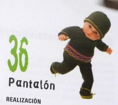 Un bonito pantalón, que se lo podéis hacer del color que más te guste. Solo tienes que leer las indicaciones que os dejo: Baby Born, Baby Dolls, Zara, Crochet Hats, Baseball Cards, Sports, Pattern, Fictional Characters, Clothes