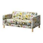 IKEA KARLSTAD Housse de canapé 2pla Blomstermåla multicolore (réf.: 10249217)
