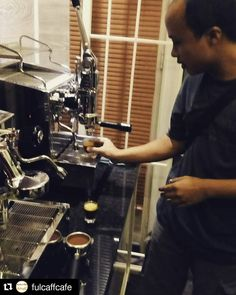 #Repost @fulcaffcafe with @repostapp  Lever/piston bro!!! Kembali ke khitttah!!!!!!!! http://ift.tt/25bZ4Kr #fulcaff #espresso #barista #coffee #cappuccino #caffelatte #macchiato #flatwhite #americano #longblack #affogato #espressoconpanna #basicespresso #espressoshot #espressomachine #doubleboiler #espressotime #alexduetto #alexleva #mesinespresso #piston #lever #kursusbarista #baristaart #baristacourse #baristatraining #fulcaffeverywhere #fulcaffcoffee #fulcaffcafe www.fulcaff.coffee…