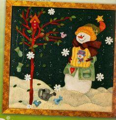 cuadro muñeco de nieves 40                                                                                                                                                                                 Más