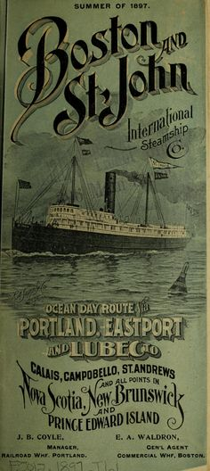 Steamship Broadside