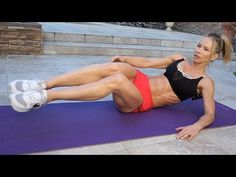 5 Minute Fat Burn Workout #121 - ABS! - YouTube