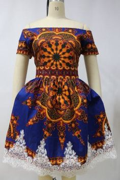 unique Dashiki ankara wax africain impression par UrbaneAfrican                                                                                                                                                                                 Plus