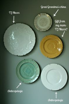 hanging plates on walls the idea of hanging plates on your wall isn t . & How To Hang Plates Without Exposed Hardware | Hanging plates ...