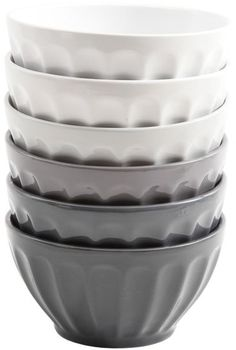 Gibson Latte Bowls (Set of 6)