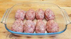 Extra šťavnaté kotlety bez zbytečné mastnoty: Připravíte je bez námahy v jednom pekáči a chutnají skvěle! Polish Recipes, Ground Beef, Hot Dogs, Lamb, Sausage, Fresh, Cooking, Ethnic Recipes, Food