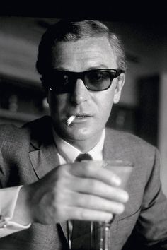 English actor Michael Caine during the filming of Guy Hamilton's 'Funeral in Berlin', in London, circa 1966.