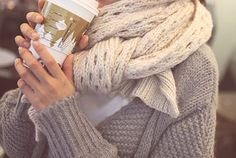 perfect fall scarf. sweater for your neck :)