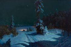 "Kondrat Maksimov, Russian, Shishkino, Vyatka province 1894 - Kazan 1981, ""Потревоженная тишина/ Anxious Silence"" (1937)"