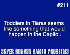 Hunger games fans would understand this...  =D