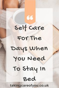 Duvet day ideas Has life got too much? Do you need to take a mental health day? Here is a list of self care ideas, perfect for the days when you can't get out of bed. Mental Health Day, Mental Health Awareness, Dental Health, Duvet Day, Anxiety Tips, Stay In Bed, Self Care Activities, Self Care Routine, Coping Skills