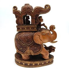 Wooden Statues, Wooden Figurines, Elephant Figurines, Wooden Art, Wooden Decor, Balinese Decor, Decorative Trunks, Wood Trunk, Carving Designs