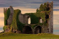Ballycarbery Castle, Cahersiveen, Over the Water,  County Kerry | Ireland