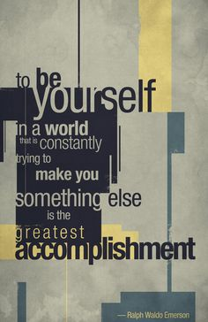 the greatest accomplishment....