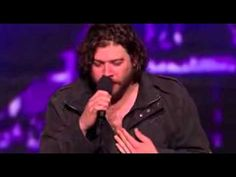 """Josh Krajcik sings """"At Last"""" by Etta James for X Factor USA audition.  This is the BEST performance ever on X Factor USA.  Josh's voice sends chills down your spine and is shockingly powerful.  This is the best contestant they have ever had on this show - and he has a huge future ahead of him in the music industry.  Rock on, Josh!!"""