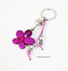 Schlüsselanhänger von Happy-about- Pearls auf DaWanda.com