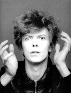 David Bowie photographed by Masayoshi Sukita for 'Heroes', 1977.