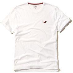 Crews V-Necks Guys T-Shirts Henleys ($20) ❤ liked on Polyvore featuring tops, t-shirts, vneck tee, v neck tee, crew t shirt, crew top and white v neck top