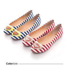 Princess - 海軍條紋帆布平底鞋 - 藍 - Yahoo!奇摩購物中心 Yahoo, Flats, Princess, Shoes, Fashion, Loafers & Slip Ons, Moda, Zapatos, Shoes Outlet