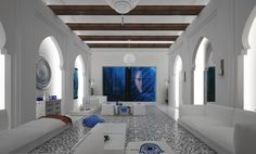 Home-Styling | Ana Antunes: Magnificent Houses - Morrocan White
