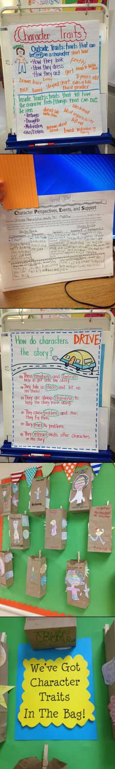 One teacher's excellent activities for teaching 'Character Traits'.