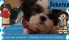 Debates for young children - PreK &... by NorthernIrelandTeacher | Teachers Pay Teachers