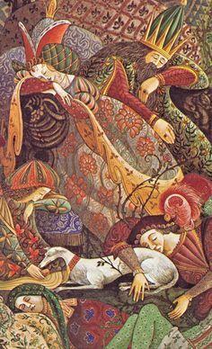 Errol Le Cain - Sleeping Beauty