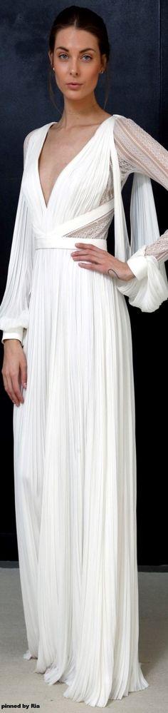 1d3612b298c J Mendel Bridal Spring 2017 l Ria White Gown Dress