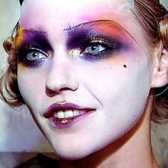Afbeeldingsresultaat voor galliano make up