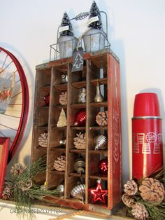 Organized Clutter: Christmas Mantel 2012