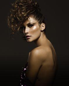 .Beauty Camila Adi .Stylist Ray Mendel .photo Vitor Shalom .model Iza Tavares