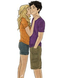 Percy and Annabeth - the-heroes-of-olympus Fan Art