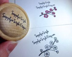 Custom Stamp - Round - Any Design