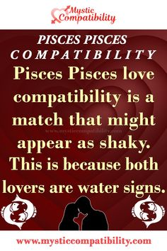 Pisces Pisces love compatibility is a match that might appear as shaky. This is because both lovers are water signs. #Pisces #Pisces #Relationship #Compatibility #Pisces_Pisces #Relationship_Compatibility #PiscesPisces #RelationshipCompatibility #Zodiac_Signs Pisces Relationship, Relationship Compatibility, Pisces Compatibility, Pisces Love, Water Signs, Zodiac Signs, Lovers, Star Constellations, Horoscopes