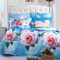 Dekbedovertrek Sets - Polyester - Full-size (200 x 230cm)/Queen(224 x 234cm) – EUR € 37.99
