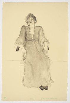 David Hockney, Celia, 1973