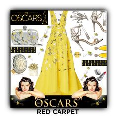 """Oscar Night Glamour"" by kitty-kimber ❤ liked on Polyvore featuring Monique Lhuillier, Christina Debs, Marchesa, Alexander McQueen, Estée Lauder, Burberry, Miriam Haskell, Oscars, Glamour and hollywood"