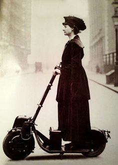 Early Scooter of 1916