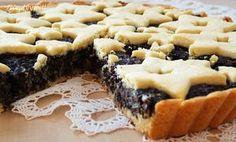 makovo jablečný koláč Czech Recipes, Sweet Cakes, Ham, Waffles, Cheesecake, Deserts, Good Food, Dessert Recipes, Cookies