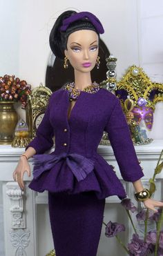 Beringela for Silkstone Barbie and Victoire by MatisseFashions