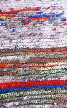 Turning Plastic Bags Into Sleep Mats For Homeless The Savvy Age Plastic Bag Crafts Plastic Bag Crochet Homeless Bags