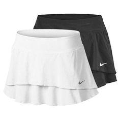 Women`s Flouncy Woven Tennis Skirt | Tennis Dresses | Tennis Skirts | Tennis Ladies Apparel @ www.FitnessGirlApparel.com Tennis Outfits, Tennis Skirts, Tennis Dress, Tennis Clothes, Sport Outfits, Nike Skirts, Golf Attire, Golf Outfit, Female Fitness
