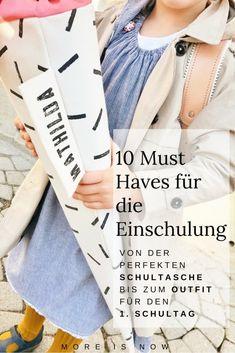 Top 10 Must-haves für die Einschulung – More is Now Everything for the start in the For # back to school and all Mothers Day Crafts For Kids, Crafts For Boys, Diy For Girls, Kids Diy, First Day School, Back To School, Pre School, Kindergarten Architecture, School Enrollment