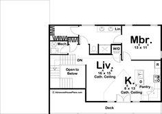 Craftsman Style Apartment Garage | Chippewa Rv Garage Plans, Garage Plans With Loft, Garage Apartment Plans, Pole Barn House Plans, Garage Apartments, Tiny House Plans, Modern House Plans, House Floor Plans, Garage Ideas