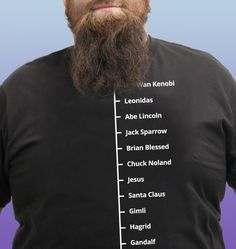 Beard Like T-Shirt Famous Facial Hair Tee Mens Beard Measuring Tshirt Stupid Funny Memes, Funny Facts, Hilarious, Gandalf, New Jersey Humor, Beard Quotes, Twitter Quotes Funny, Awesome Beards, Humor Grafico