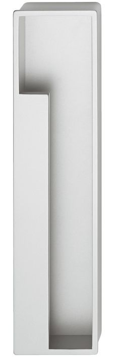 Muschelgriff, aus Zinkdruckguss, für Schiebetüren ab 25 mm Dicke - im Häfele Deutschland Shop