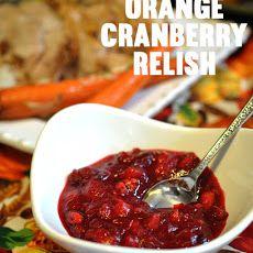 Orange Cranberry Relish