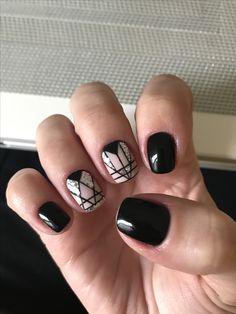 Nail Designs, Nail Art, Nails, Makeup, Beauty, Work Nails, Braid Hair, Black Nails, Short Nails