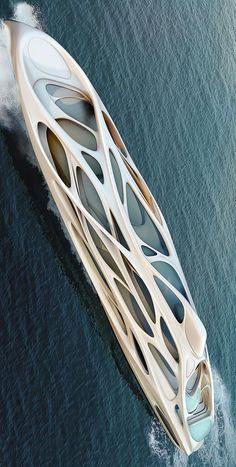 Yachts by Zaha Hadid Architects